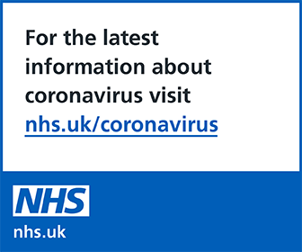 For the latest about coronavirus visit nhs.uk/coronavirus
